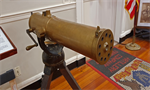 Gatling gun, staat in Faneuil Hall